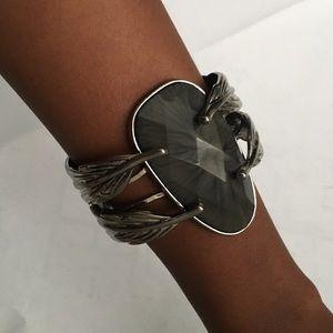 Gray & Silver Bracelet